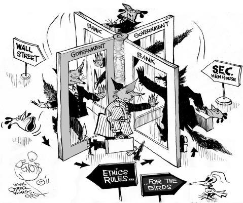 revolving-door-cartoon